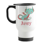Chinese Zodiac Stainless Steel Travel Mug with Handle