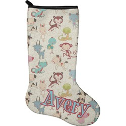 Chinese Zodiac Christmas Stocking - Neoprene (Personalized)