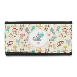 Chinese Zodiac Leatherette Ladies Wallet (Personalized)