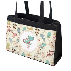 Chinese Zodiac Zippered Everyday Tote (Personalized)