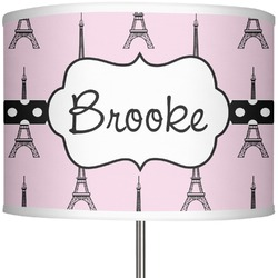 """Eiffel Tower 13"""" Drum Lamp Shade (Personalized)"""