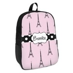 Eiffel Tower Kids Backpack (Personalized)