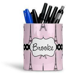 Eiffel Tower Ceramic Pen Holder