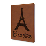 Eiffel Tower Leatherette Journal (Personalized)