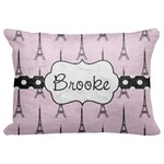 "Eiffel Tower Decorative Baby Pillowcase - 16""x12"" (Personalized)"