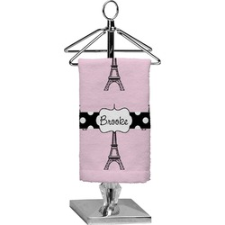 Eiffel Tower Finger Tip Towel - Full Print (Personalized)