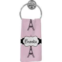 Eiffel Tower Hand Towel - Full Print (Personalized)