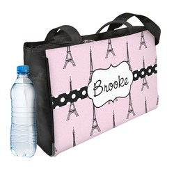 Eiffel Tower Ladies Workout Bag (Personalized)