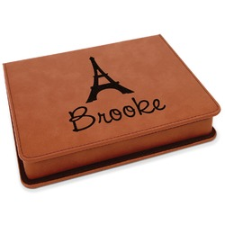 Eiffel Tower Leatherette 4-Piece Wine Tool Set (Personalized)