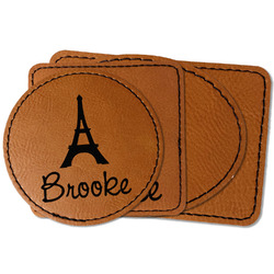 Eiffel Tower Leatherette Patch (Personalized)
