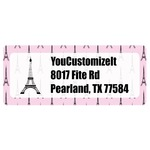 Eiffel Tower Return Address Labels (Personalized)