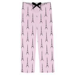 Eiffel Tower Mens Pajama Pants (Personalized)