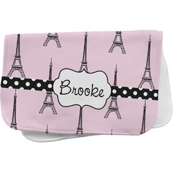 Eiffel Tower Burp Cloth (Personalized)