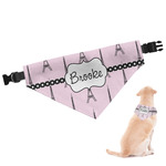 Eiffel Tower Dog Bandana (Personalized)