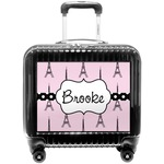 Eiffel Tower Pilot / Flight Suitcase (Personalized)