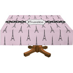 Eiffel Tower Tablecloth (Personalized)