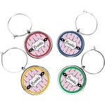 Eiffel Tower Wine Charms (Set of 4) (Personalized)