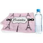 Eiffel Tower Sports & Fitness Towel (Personalized)