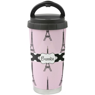 Eiffel Tower Stainless Steel Coffee Tumbler (Personalized)