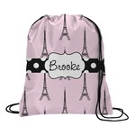 Eiffel Tower Drawstring Backpack (Personalized)