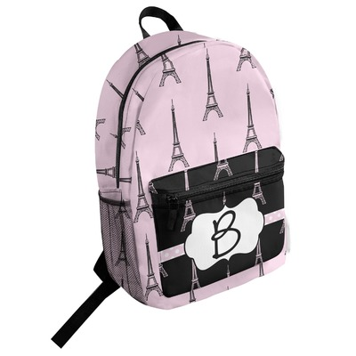 Eiffel Tower Student Backpack (Personalized)