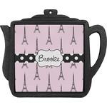 Eiffel Tower Teapot Trivet (Personalized)