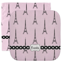 Eiffel Tower Facecloth / Wash Cloth (Personalized)