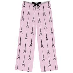 Eiffel Tower Womens Pajama Pants (Personalized)