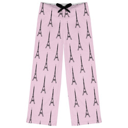 Eiffel Tower Womens Pajama Pants (Personalized)