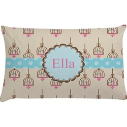 Kissing Birds Pillow Case (Personalized)