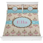 Kissing Birds Comforters (Personalized)