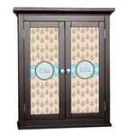 Kissing Birds Cabinet Decal - Custom Size (Personalized)