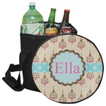 Kissing Birds Collapsible Cooler & Seat (Personalized)