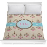 Kissing Birds Comforter (Personalized)