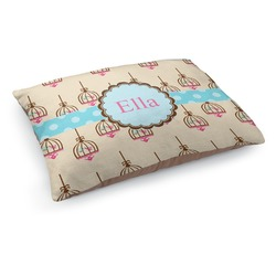 Kissing Birds Dog Pillow Bed (Personalized)
