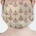 Kissing Birds Face Mask Cover (Personalized)