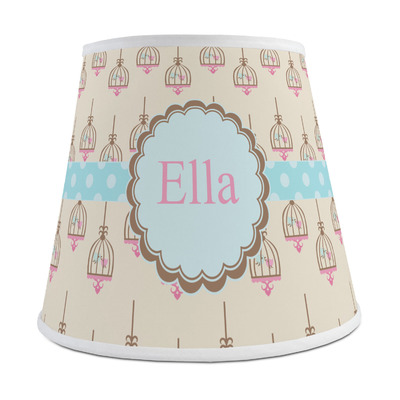 Kissing Birds Empire Lamp Shade (Personalized)