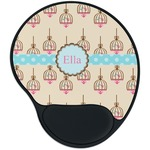 Kissing Birds Mouse Pad with Wrist Support