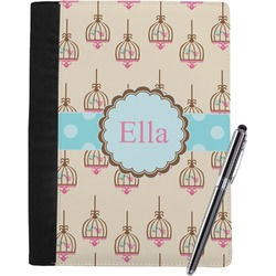 Kissing Birds Notebook Padfolio (Personalized)