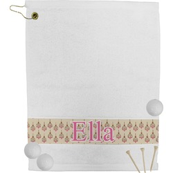 Kissing Birds Golf Towel (Personalized)