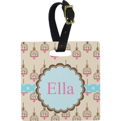 Kissing Birds Luggage Tags (Personalized)