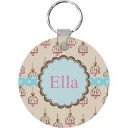 Kissing Birds Keychains - FRP (Personalized)