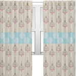 Kissing Birds Sheer Curtains (Personalized)