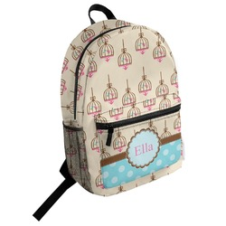 Kissing Birds Student Backpack (Personalized)