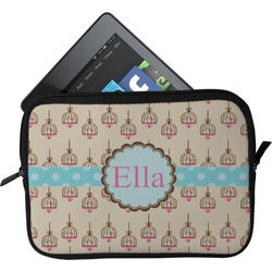 Kissing Birds Tablet Case / Sleeve (Personalized)