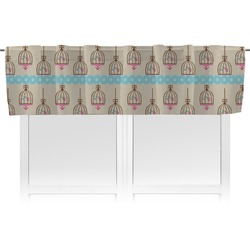 Kissing Birds Valance (Personalized)