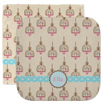 Kissing Birds Facecloth / Wash Cloth (Personalized)
