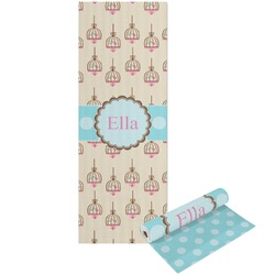 Kissing Birds Yoga Mat - Printable Front and Back (Personalized)