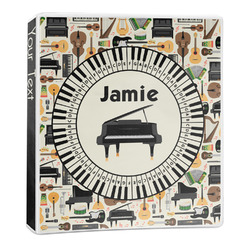 Musical Instruments 3-Ring Binder - 1 inch (Personalized)