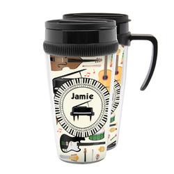 Musical Instruments Acrylic Travel Mugs (Personalized)